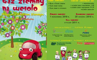 Konkurs Gaz Ziemny na wesoło dla przedszkolaków, uczniów szkół podstawowych i gimnazjalistów